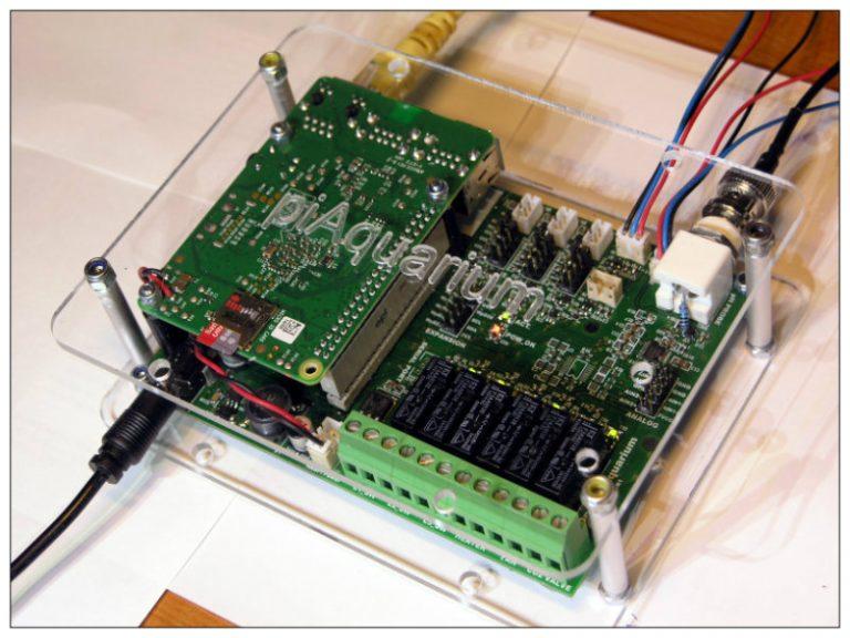 Btech project | Raspberry pi  based Aquarium Controller