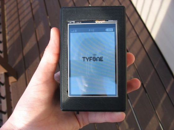 Smartphone Using Raspberry pi  Make a Smartphone using Raspberry Pi typhone 560x420