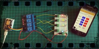 Using Your Smartphone and NodeMcu control your devices wirelessly