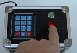 Password Based Lock Box