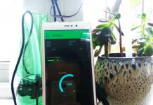 Plant pollution & weathering wirelessly , automatically watering system