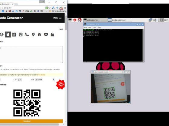 raspberry pi qr code reader raspberry pi qr code reader Raspberry pi based touchless Qr code Reader QR Code pi 560x420