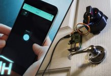 Smart Home Door Lock Raspberry Pi