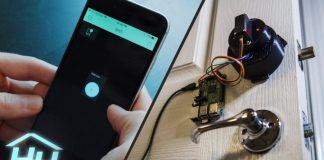 Smart Home Door Lock Raspberry Pi