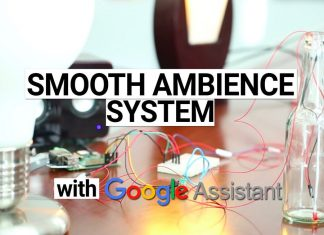 embedded systems projects Home Trigger via voice command a smooth ambiance system 324x235