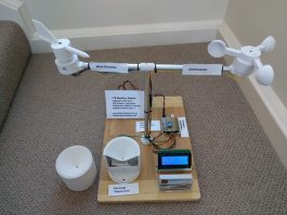 Weather and Pollution Monitoring of Your Field with arduino or Raspberry pi