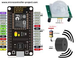 A SUPER SIMPLE ESP8266 IOT MOTION SENSOR | Embedded systems