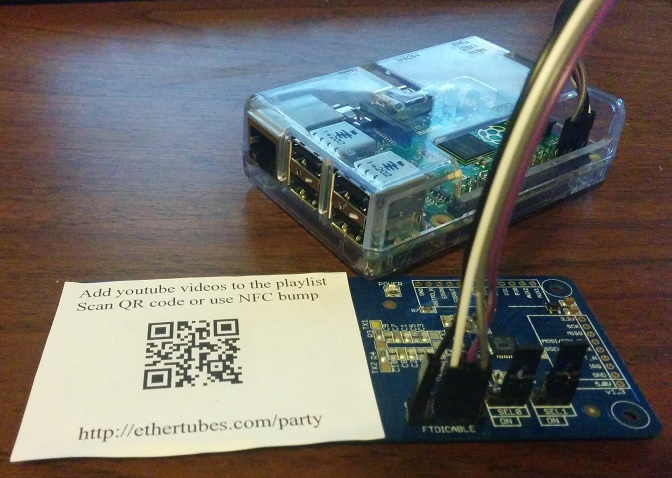 Raspberry pi based touchless Qr code Reader