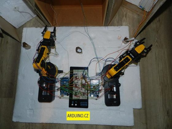 Robot Arm with Smartphone control Using Arduino robot arm with smartphone control using arduino Robot Arm with Smartphone control Using Arduino Robot Arm with Smartphone control Using Arduino2 560x420