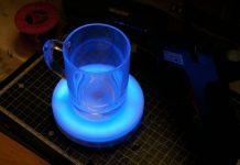 Smart Tea cup for children Using arduino
