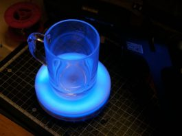 Smart Tea cup for children Using arduino